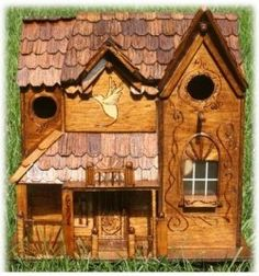 rustic bird house for my country bird buddies