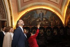 Don Felipe y Doña Letizia visitaron los Coros del Colegio de Guadalupe y el de la Capilla de Nápoles Guadalupe. Zacatecas (Estados Unidos Mexicanos), 01.07.2015