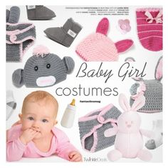 """""""Baby Girl"""" by pokadoll ❤ liked on Polyvore featuring UGG Australia, polyvoreeditorial and polyvoreset"""