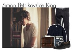 """""""Simon Petrikov (High School/Real Life) from Adventure Time"""" by ginger-coloured ❤ liked on Polyvore"""