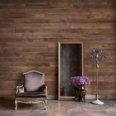 Shop Sable Peel And Stick Wood Wall Planks