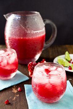 Pomegranate Margaritas by foodiebride, via Flickr