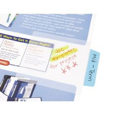 Sheer Post-it notes