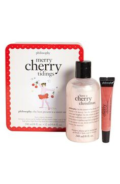 philosophy 'merry cherry tidings' duo http://rstyle.me/n/dpx9br9te