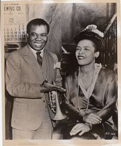 louis armstrong & billie holiday