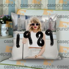 Sr2-taylor Swift The 1989 World Tour Cushion Pillow Case