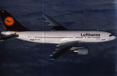 Lufthansa Die Flotte 1990,Airbus A310-200. I flew this one on Montreal YMX to Philadelphia PHL