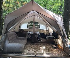 Glamping ... My way ... Easy living #GlampingIsRad #campingequipment