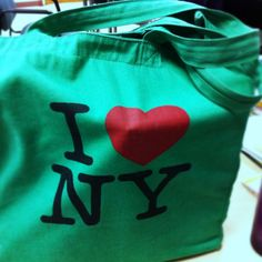 Green I <3 NY - $10 in the East Village c. 2006
