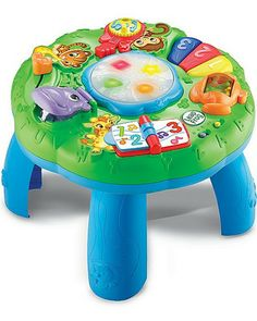 Music and lights and numbers, oh my! This interactive zoo-themed table is THE teaching toy for toddlers this season. Click above to buy one!