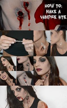 Makeup hacks to complete your scary DIY Halloween costumes                                                                                                                                                                                 More