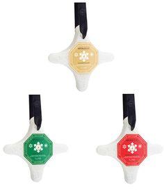 Spongelle - Holiday Snowflake Body Buffers Set