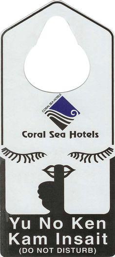Coral Sea Hotels. Papua New Guinea