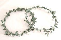 Couronnes de fleurs, couronnes mariage, cortège, petites fille d'honneur, domaine de la Ruisselière