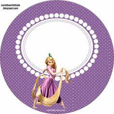 kit festa enrolados rapunzel imprimir grátis