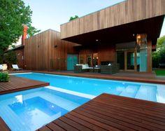 decking, pool