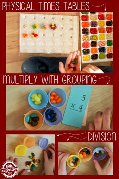Make math fun! Teach multiplication with a 50 or 40 flavor gift box of Jelly Belly jelly beans from Kids Activities Blog.