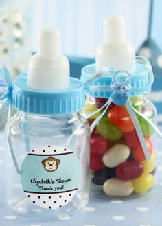 Bottle up all your love in these cute baby bottle favors! Send your guests home with these personalized favors to remember your perfect baby shower.