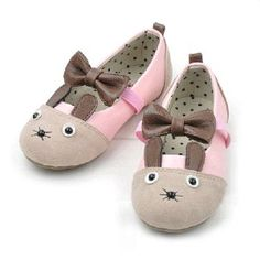 Adorable Kids Bunny Shoes #kids #pink #easter #bunny #shoes