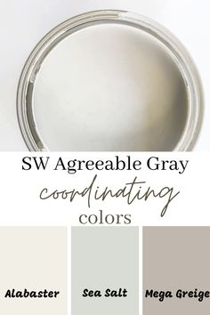 Paint Color Schemes, House Color Schemes, Grey Paint Colors, Interior Paint Colors, Paint Colors For Home, House Colors, Gray Paint, House Paint Interior, Paint Colors For Hallway