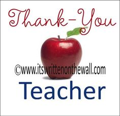 23 Teacher Appreciation Sayings and Gifts {Inexpensive but Clever} from It's Written on the Wall