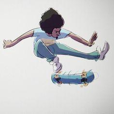 Skater sketch before bed #cooldown #sketch #skater #hater #skateboarding #doodle #draw #drawing #character #comic #thumbsup #design #characterdesign #talnts #talentedpeopleinc #art #animation #illustration #artcollective #animationart #sketch_daily #concept #digitalart #artistmafia #artistsoninstagram by artpoole