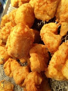 Crispy fish nuggets made of solid cod or catfish fillets that the kids will love! Catfish Nuggets Recipes, Fried Catfish Nuggets, Fried Catfish Recipes, Catfish Batter Recipe, Corn Nuggets, Louisiana Fish Fry, Southern Fried Catfish, Fish Breading, Recipes