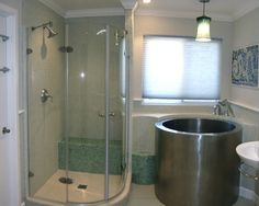 Bathroom Ideas On Pinterest Stand Up Showers Corner Showers And Small Atti