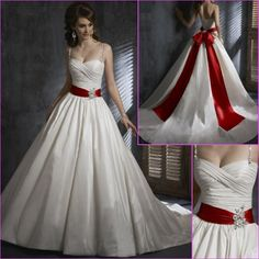 Captain America Bride..add mini shields to the middle of the bow and the front of the sash