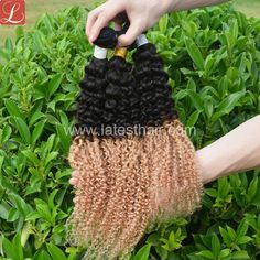 #1b/27,black blonde ombre hair weaves,curly wave two tone human hair,shop from www.latesthair.com/ Indian Hairstyles, Weave Hairstyles, Black And Blonde Ombre, Ombre Hair Weave, Ombre Human Hair Extensions, Curly Hair Styles, Natural Hair Styles, Glamour Hair, Latest Hair Trends