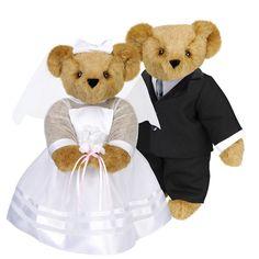 """15"""" Wedding Bears   Love   Themes   Vermont Teddy Bear Company"""