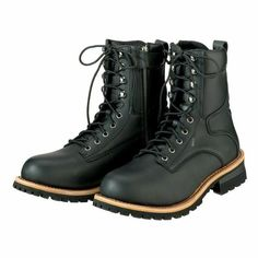 dca45c35e36223 (eBay Advertisement) Z1R Mens M4 Motorcycle Street Cruiser Boots / Black -  Select Size