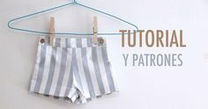 DIY Costura patalón corto para niños (patrones gratis) - Oh, Mother Mine DIY! Rainbow Baby, Sewing Clothes, Diy Crafts, Patterns, Fashion, Sewing For Kids, Kids Fashion, Kids Pants, Girls Dresses