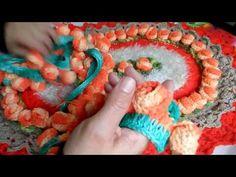 Botão de rosa em crochê - YouTube                                                                                                                                                                                 Mais