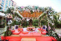 Spring blooms and a sunny Mandap - Wedding Design by Gurleen M Puri Traditional Wedding Decor, Wedding Decorations, Table Decorations, Spring Blooms, Soft Colors, Wedding Inspiration, Wedding Ideas, Event Decor, Wedding Designs