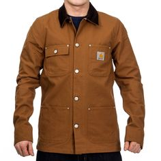 Carhartt Michigan Coat Carhartt Brown Rigid | Takit | Syndicate.fi Streetwear
