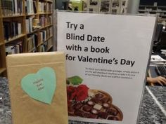 Blind Date with a Book Book Displays, Library Displays, Library Bulletin Boards, Library Activities, Summer Reading Program, Blind Dates, Library Programs, Speed Dating, Library Ideas