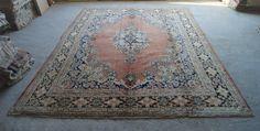 9'5''x12'10'' Antique Persian Rug Oriental Vintage by RugToGo