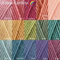 Yarn Color Combinations, Color Schemes Colour Palettes, Beautiful Color Combinations, Crochet Home, Crochet Crafts, Crochet Yarn, Granny Square Crochet Pattern, Crochet Stitches Patterns, Yarn Projects