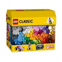 Votre enfant utilise son imagination pour donner vie à de nouvelles créations avec cette boîte passionnante de briques LEGO Classic. Il peut utiliser les instructions incluses ou en télécharger d'autres en ligne pour se donner des idées !