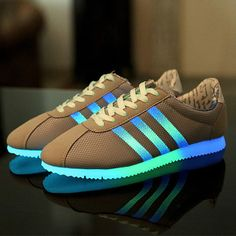 Led luminous shoes Unisex Men Women Shoes Fluorescent Glowing Light up Led shoes for adults Zapatos mujer Yeezy Light shoes men-in Men's Casual Shoes from Shoes on Aliexpress.com | Alibaba Group