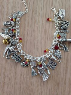 Inspired by Harry Potter Gryffindor Charm by OnASpelledWind, $37.00