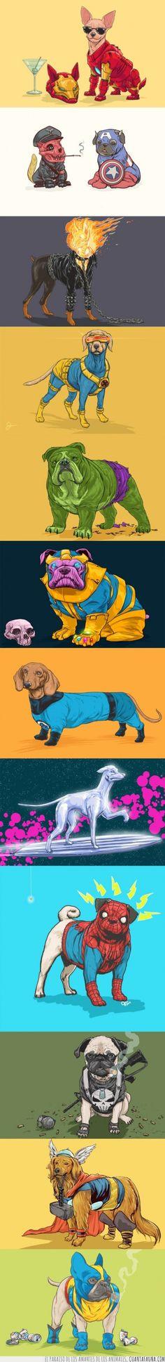 Perros de cómic