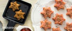 Gourmet recept: gehakt sterren