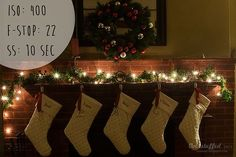 How to make your Christmas Lights twinkle in photos