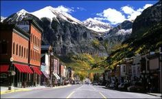 Telluride, Colorado - one of my all time favorite places!