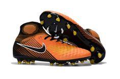 Nike Magista Obra II FG Soccer Shoes Orange Black on www.evensoccer.com cccd0dba8ef