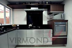 Cozinha compacta charmosa