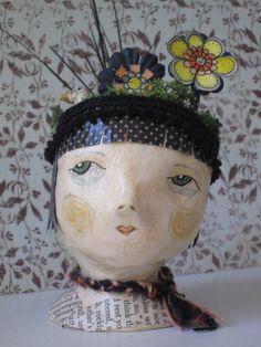 Flora. Art Doll Bust.