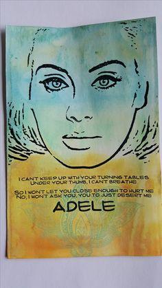 Adele Facebookgroep Art journal